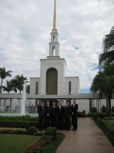 The Beautiful Sao Paulo Temple